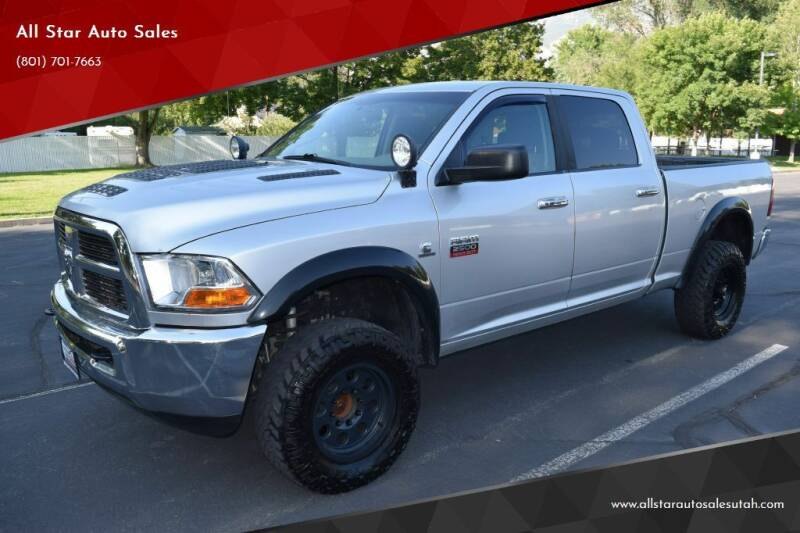 2010 Dodge Ram Pickup 2500 for sale at All Star Auto Sales in Pleasant Grove UT