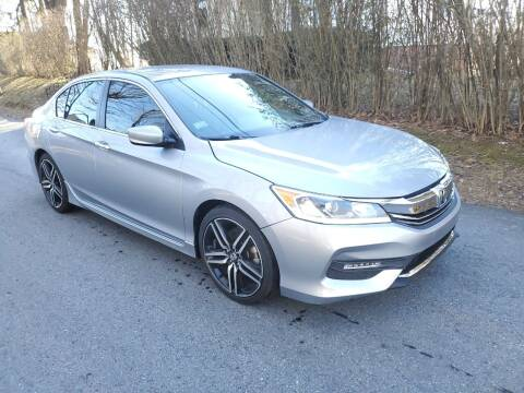 2017 Honda Accord for sale at STURBRIDGE CAR SERVICE CO in Sturbridge MA
