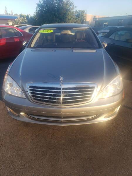 2007 Mercedes-Benz S-Class for sale at Thomas Auto Sales in Manteca CA