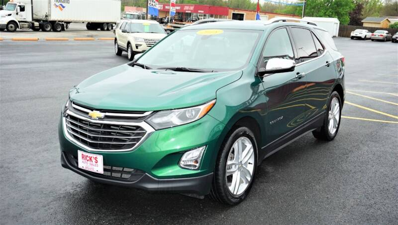 2018 Chevrolet Equinox for sale at Ricks Auto Sales, Inc. in Kenton OH