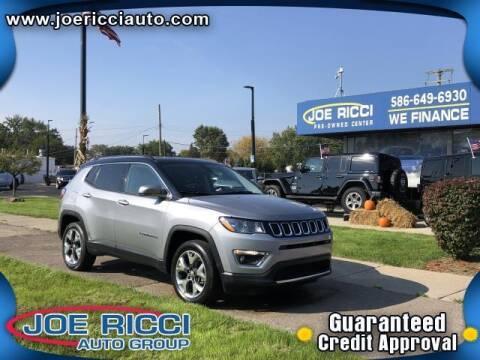 2018 Jeep Compass for sale at JOE RICCI AUTOMOTIVE in Clinton Township MI