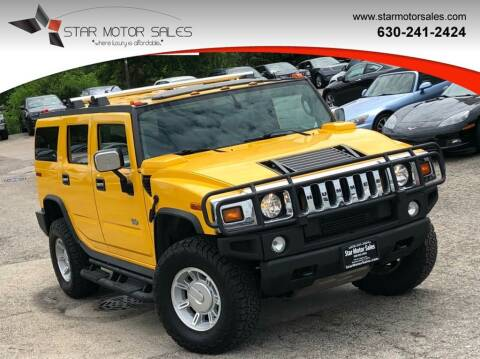 2004 HUMMER H2 for sale at Star Motor Sales in Downers Grove IL
