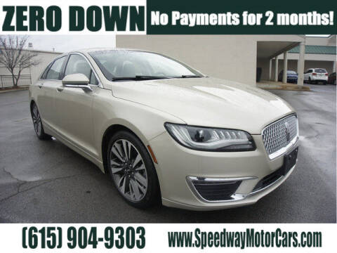 2017 Lincoln MKZ for sale at Speedway Motors in Murfreesboro TN