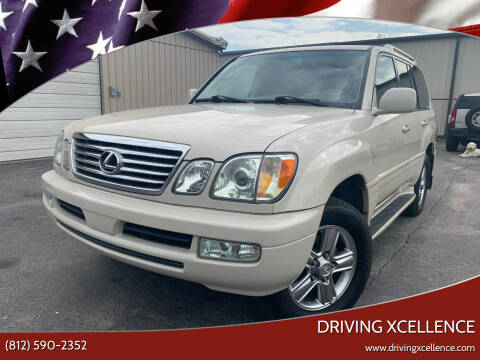 2006 Lexus LX 470 for sale at Driving Xcellence in Jeffersonville IN