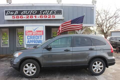 2011 Honda CR-V for sale at D & B Auto Sales LLC in Washington Township MI