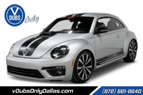 2012 Volkswagen Beetle for sale at VDUBS ONLY in Dallas TX