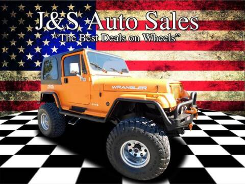 1994 Jeep Wrangler for sale at J & S Auto Sales in Clarksville TN