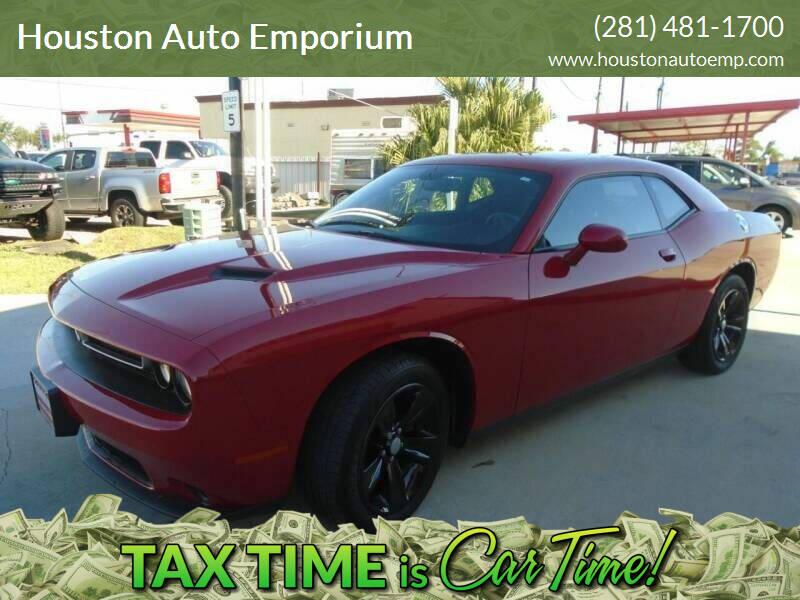 2017 Dodge Challenger for sale at Houston Auto Emporium in Houston TX