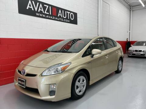 2010 Toyota Prius for sale at AVAZI AUTO GROUP LLC in Gaithersburg MD