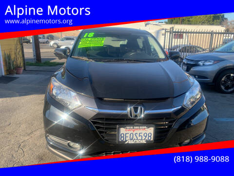 2018 Honda HR-V for sale at Alpine Motors in Van Nuys CA