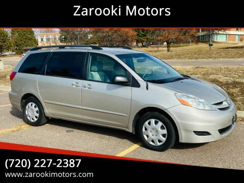 2009 Toyota Sienna for sale at Zarooki Motors in Englewood CO