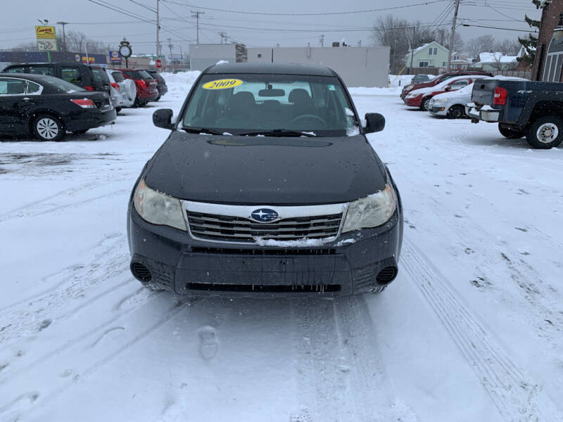 2009 Subaru Forester for sale at L.A. Automotive Sales in Lackawanna NY