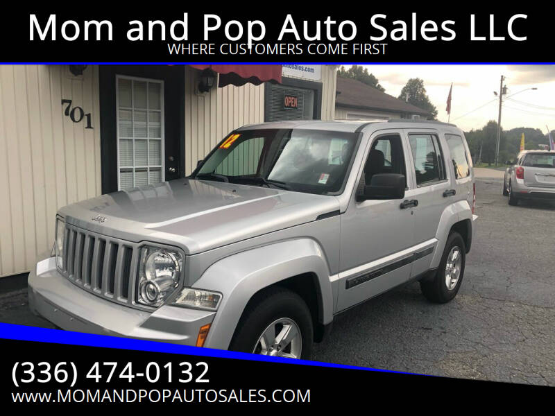 2012 Jeep Liberty for sale at Mom and Pop Auto Sales LLC in Thomasville NC
