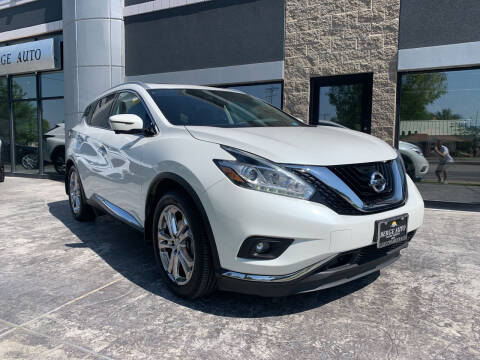 2016 Nissan Murano for sale at Berge Auto in Orem UT