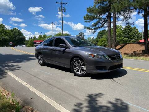 2015 Honda Accord for sale at THE AUTO FINDERS in Durham NC