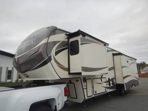 2015 Keystone Montana 3611 for sale at Autowright Motor Co. in West Boylston MA