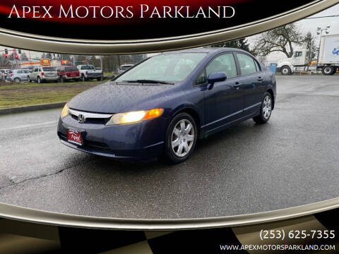 2006 Honda Civic for sale at Apex Motors Parkland in Tacoma WA