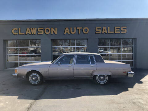1984 Oldsmobile Ninety-Eight for sale at Clawson Auto Sales in Clawson MI