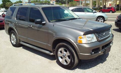 2003 Ford Explorer for sale at Pinellas Auto Brokers in Saint Petersburg FL