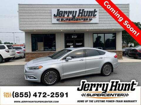 2018 Ford Fusion for sale at Jerry Hunt Supercenter in Lexington NC