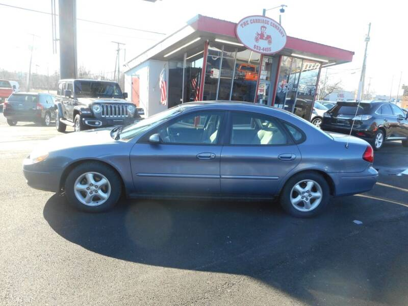 2000 Ford Taurus for sale at The Carriage Company in Lancaster OH