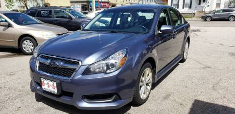 2014 Subaru Legacy for sale at Union Street Auto in Manchester NH