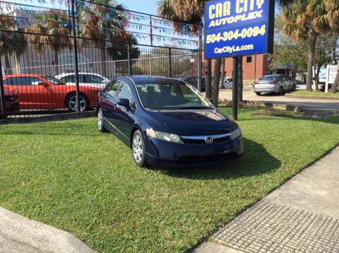 2006 Honda Civic for sale at Car City Autoplex in Metairie LA
