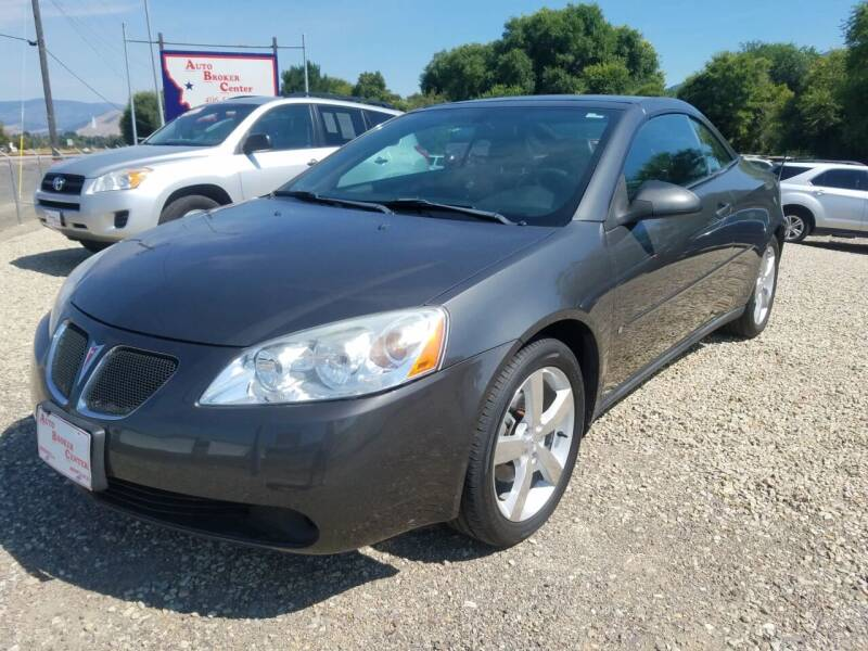 2006 Pontiac G6 for sale at AUTO BROKER CENTER in Lolo MT