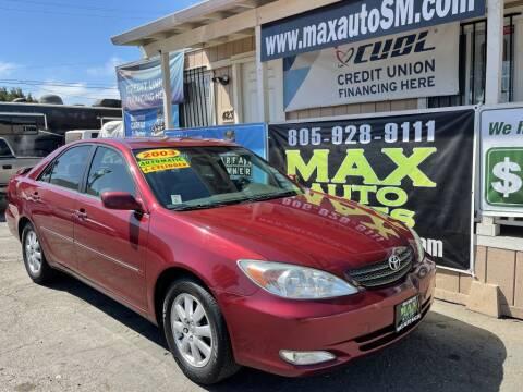 2003 Toyota Camry for sale at Max Auto Sales in Santa Maria CA