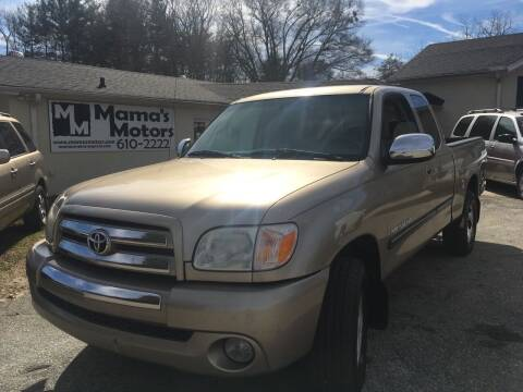 2006 Toyota Tundra for sale at Mama's Motors in Greer SC
