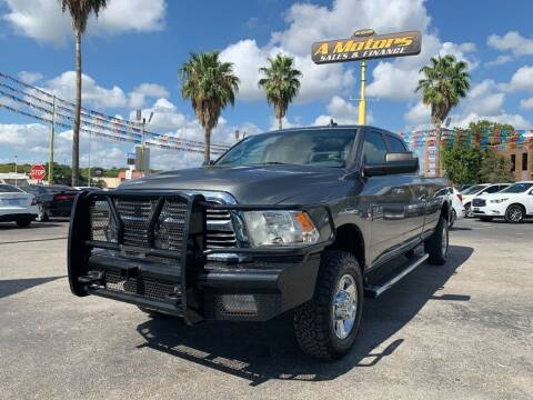 2013 RAM Ram Pickup 2500 for sale at A MOTORS SALES AND FINANCE in San Antonio TX
