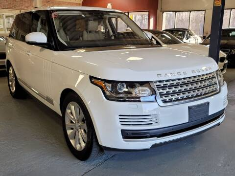 2017 Land Rover Range Rover for sale at AW Auto & Truck Wholesalers  Inc. in Hasbrouck Heights NJ