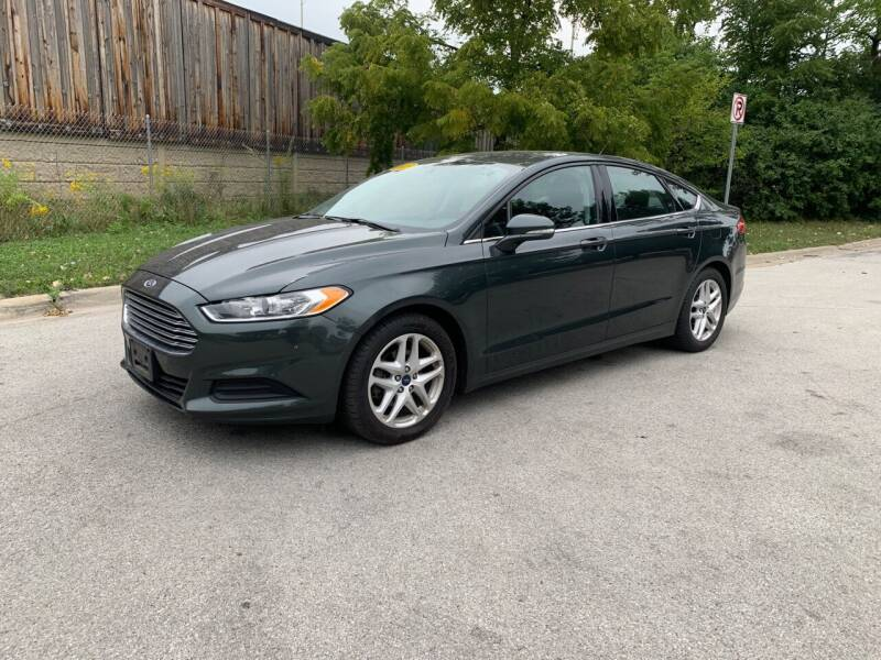 2015 Ford Fusion for sale at Posen Motors in Posen IL