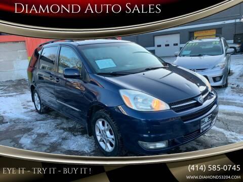 2004 Toyota Sienna for sale at Diamond Auto Sales in Milwaukee WI