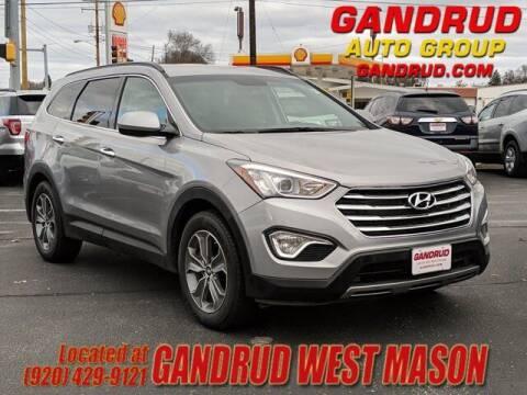 2016 Hyundai Santa Fe for sale at GANDRUD CHEVROLET in Green Bay WI