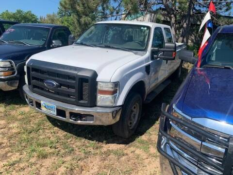 2008 Ford F-250 Super Duty for sale at Four Boys Motorsports in Wadena MN