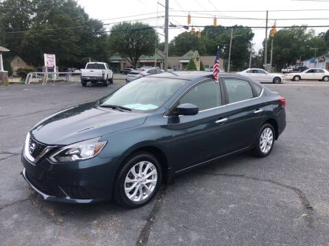 2017 Nissan Sentra for sale at Mikes Auto Sales INC in Forest City NC