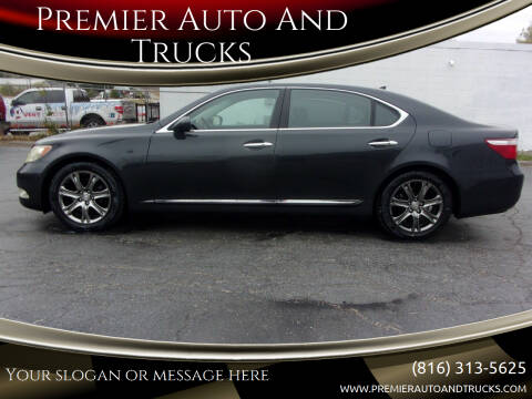 2007 Lexus LS 460 for sale at Premier Auto And Trucks in Independence MO