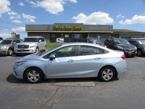 2017 Chevrolet Cruze for sale at MIRA AUTO SALES in Cincinnati OH