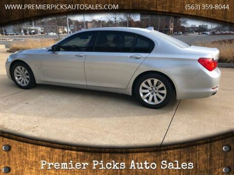 2010 BMW 7 Series for sale at Premier Picks Auto Sales in Bettendorf IA