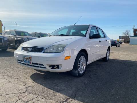 2005 Ford Focus for sale at Auto Tech Car Sales and Leasing in Saint Paul MN