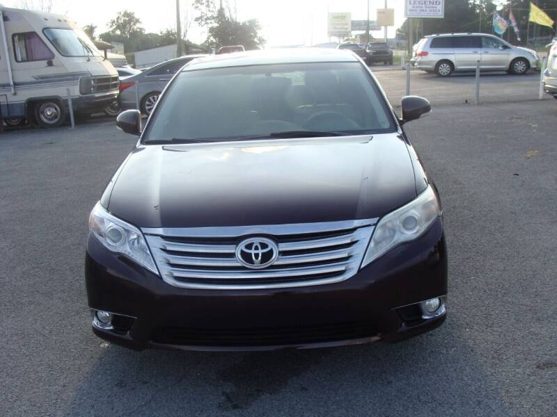 2011 Toyota Avalon for sale at Knoxville Used Cars in Knoxville TN