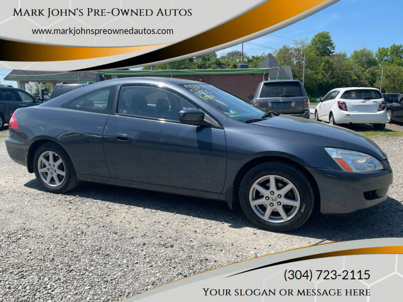2003 Honda Accord for sale at Mark John's Pre-Owned Autos in Weirton WV