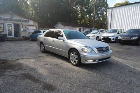 2004 Lexus LS 430 for sale at E-Motorworks in Roswell GA
