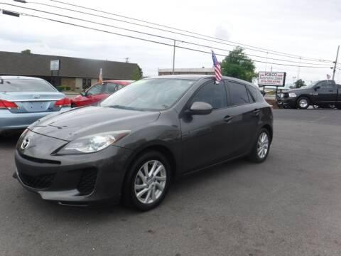 2012 Mazda MAZDA3 for sale at Rob Co Automotive LLC in Springfield TN