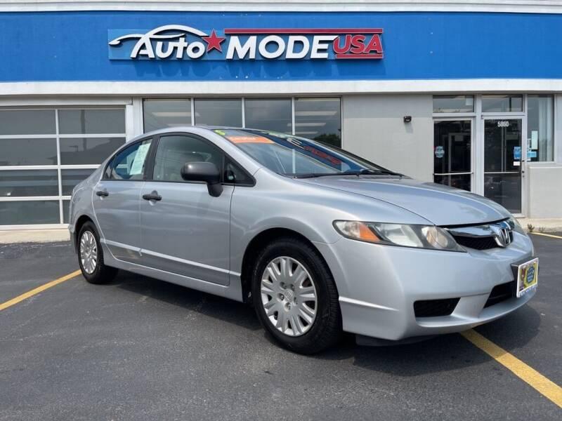 2010 Honda Civic for sale at AUTO MODE USA in Burbank IL