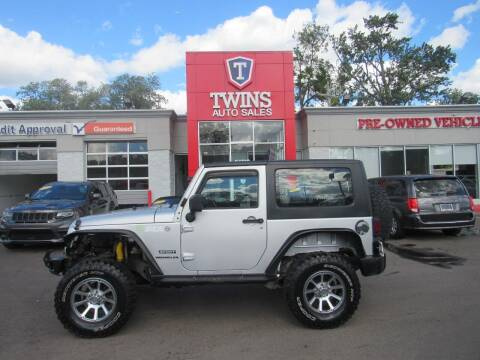 2010 Jeep Wrangler for sale at Twins Auto Sales Inc in Detroit MI