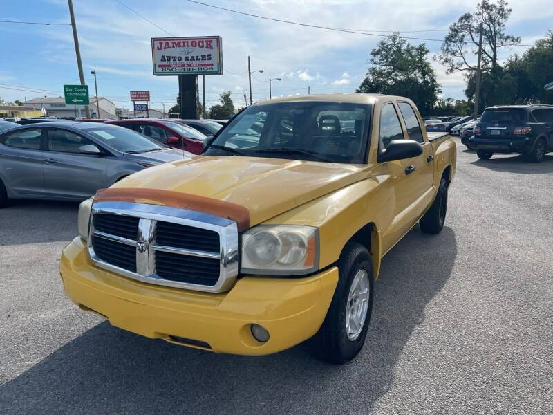 2006 Dodge Dakota for sale at Jamrock Auto Sales of Panama City in Panama City FL