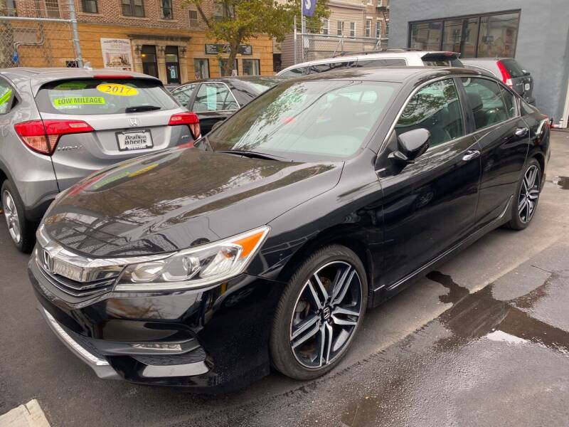 2016 Honda Accord for sale at DEALS ON WHEELS in Newark NJ