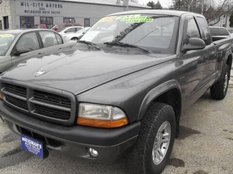 2002 Dodge Dakota for sale at Weigman's Auto Sales in Milwaukee WI